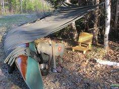Base Camp Heavy And Travel Light post image Bushcraft Camping, Kayak Camping, Camping Survival, Survival Skills, Outdoor Camping, Survival Tips, Campsite, Canoe Trip, Canoe And Kayak