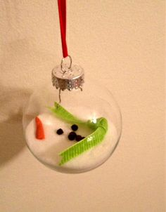 Melted snowman-received one of these from a student...it really does look just like this! So cute!