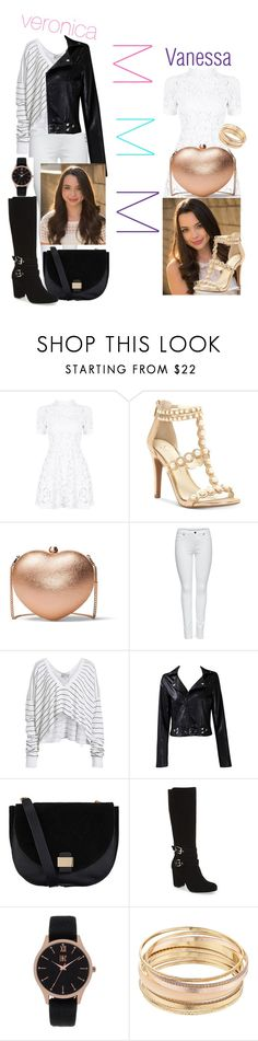 """""""Merrell twins"""" by elizabethmorrin ❤ liked on Polyvore featuring Merrell, Jessica Simpson, MICHAEL Michael Kors, M&Co, Wildfox, Taya, Accessorize, Charles by Charles David, INC International Concepts and Mudd"""