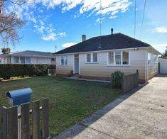 This comfortable Mosgiel property promises to be your forever home Day Room, Painted Walls, Wood Burner, New Carpet, Open Plan Kitchen, Exterior Paint, Open House, Shed, Real Estate