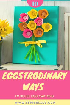 10 Eggstrodinary Ways to Reuse Egg Cartons | Pepperlace