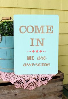 Easy Hand Painted Wood Sign Tutorial - FYNES DESIGNS