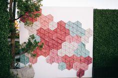 Geometrische Photobooth-Kulisse für moderne von LauraStewartDesign