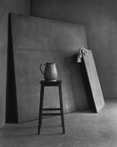 The Still Life Series by Swiss photographer Christian Coigny shows carefully arranged canvases, wooden boards, sheets of paper in black and white images. The Morandi-esque compositions are lit from a soft source coming from a side which reveals the rich variety of gray nuances and exalts the...