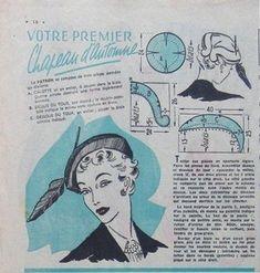 Hat box, vzory vinobraní klobouky