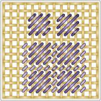 Bargello Patterns, Bargello Needlepoint, Needlepoint Stitches, Embroidery Stitches, Plastic Canvas Stitches, Plastic Canvas Crafts, Plastic Canvas Patterns, Machine Embroidery Projects, Cross Stitching