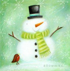 Ileana Oakley - Snowman Cute Christmas Snow.jpg