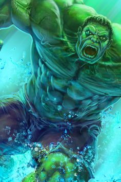 #Hulk #Fan #Art. (Hulk) By: Steven6.