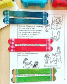 Use two popsicle sticks and tape to make a tool to help students focus on one line at a time. Activities For Boys, Teaching Activities, Teaching Reading, 3rd Grade Classroom, New Classroom, Iep School, Grundschul Teacher, Enchanted Learning, 4th Grade Reading