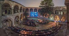 Kurshumli is a Cinema in Skopje, Macedonia - This is the image of the Creative Documentary Film Festival. Cinema Theatre, Movie Theater, Orange Cinema, Budapest, Architecture Romaine, Studio Disney, Las Vegas, Republic Of Macedonia, Outdoor Cinema