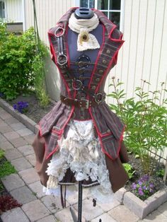 Airship Pirate Steampunk - Dragonfly Designs by Alisa I think this Jacket is so cool I would wear it every day!