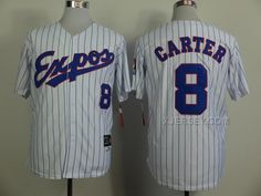 http://www.xjersey.com/expos-8-carter-white-1982-throwback-jerseys.html EXPOS 8 CARTER WHITE 1982 THROWBACK JERSEYS Only $36.00 , Free Shipping!