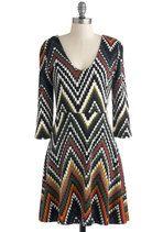 Oscillate Night Out Dress   Mod Retro Vintage Dresses   ModCloth.com