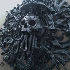 Cthulhu sculpture by Cam Rackam                                                                                                                                                                                 Plus
