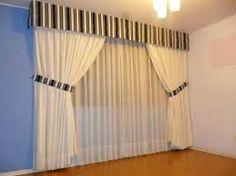 Resultado de imagen para cortinas con cenefas para salas                                                                                                                                                                                 Más