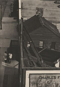 """PAUL STRAND, """"Photograph - New York"""", From the Viaduct, CW No. 49/50, 1917, June 1917, Camera Work photogravure, 9 1/2"""" x 6 5/8"""""""