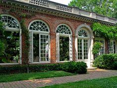 Dunbarton Oaks Orangery outside