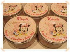 Souvenirs Personalizados, latas personalizadas Minnie baby.. chiru.souvenirs@hotmail.com