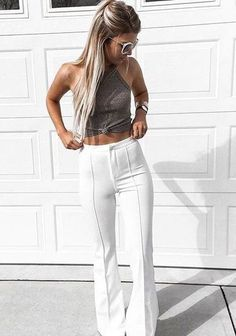 white pants For similar items, please visit http://www.fashioncraycray.xyz/