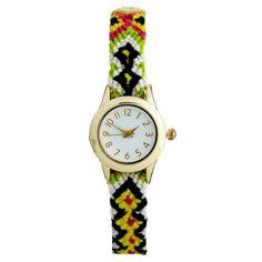 ASOS Friendship Bracelet Watch by Asos