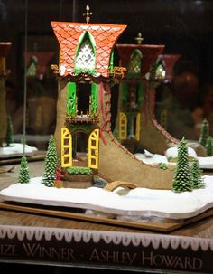 Grand Prize winner of all winners:  2011 Grove Park Inn National Gingerbread Competition