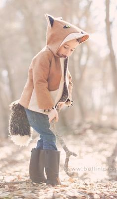 Fantastic Fox Coat - Want for my boys!
