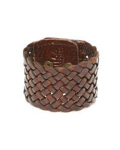 leather cuff.