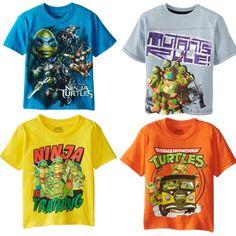 025c33c62ab Boy T shirt Summer Short-sleeved Teenage mutant ninja turtles clothing Baby  T-shirt