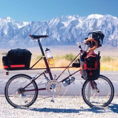 Moulton TSR 30 Touring with Carradice Bags by moultonbuzz, via Flickr