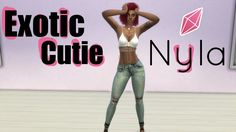 ❤️The Sims 4 | Exotic Cutie❤️ This sim is Exotic, Exotically cute !!