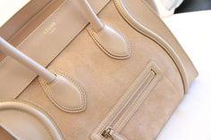 Habitually Chic®: Lighten Up Celine Bag Celine Handbags, Celine Bag, Celine Luggage, My Bags, Purses And Bags, Cheap Designer Handbags, Designer Bags, Beige, Handbags Online