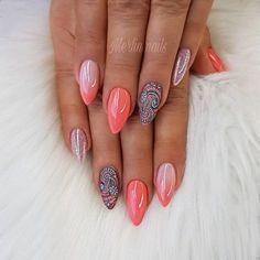 Classic Nails Acrylic Nails Short Nails Squoval Make your nails beautiful quickly and eye catching easily Picture Credit summernails nailsart nailsdesign nailartdiy nailartgallery nailartideas fakenails nailfashion nudenails valentinesday val Cute Summer Nails, Cute Nails, Pink Nail Art, Pink Nails, Colorful Nail Designs, Nail Art Designs, Colorful Nails, Shellac Nail Designs, Nails Design