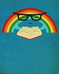 20 great posters that encourage reading.