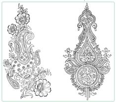 "Mendhi ""dog eared"""