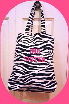 Big Sister Totes  on Etsy, $29.99