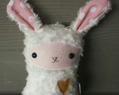 Check out this item in my Etsy shop https://www.etsy.com/listing/243167023/flora-bunny