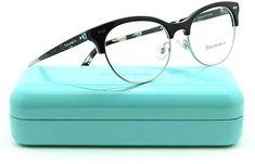 28aabf4ce94 Tiffany   Co. TF 2156 Women Oval Eyeglasses RX Prescription Frame 8001