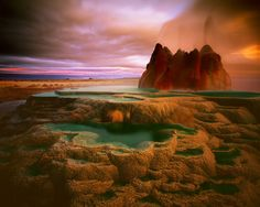 Fly Geyser, Washoe County Nevada: 10 Places So Surreal They Could Be From Other Planets 4k Photography, Popular Photography, Landscape Photography, Photography Magazine, Landscape Photos, National Photography, Great Places, Places To See, Beautiful Places