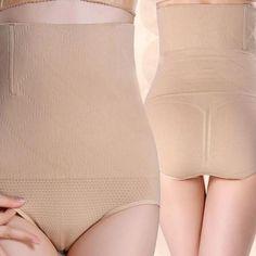 4ce344063ee03 KLV M XL Women High Waist Shapewear Seamless Tummy Control Body Shaper  Panty Tummy Briefs