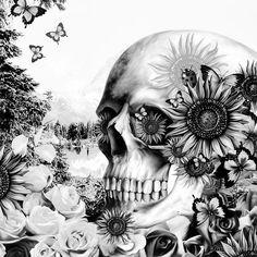 #skull #skulltattoo #skulls #skully #skullcandy #skullart #skullkid #skullz #skullandcrossbones #skullcap #skulljewelry #skullmakeup #skullface #skullandbones #skulllove #skullhead #skullrings #skulllover #skullring #skulltattoos #skullbracelet #skullmask #skullshirt #skullscarf #skullartwork #skullcollection #skulladdict #skullandroses #skull💀#skullpainting Skull Decor, Skull Art, Graffiti, Reflection Art, Poster Online, Floral Skull, White Throw Pillows, Skull Jewelry, Skull And Bones
