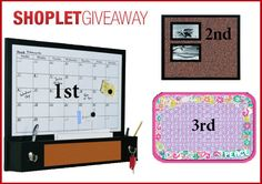 This week our giveaway is sponsored by MasterVision! There will be 3 lucky winners. Here's how to win: Follow Shoplet on Pinterest, repin this post, go to the Shoplet Blog each day September 23rd-27th & tell us why you want this amazing #giveaway!