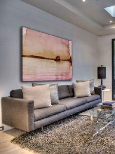 Peinture beige gris sur pinterest for Combien de couleur dans un salon