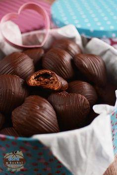 Pierniczki z nadzieniem Stuffed Mushrooms, Easter, Vegetables, Sweet, Christmas, Bonbon, Candy, Recipes, Xmas