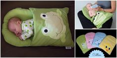 DIY Baby Pillowcase Sleeping Bag Patterns and Tutorial (Video)