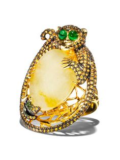 Wendy Yue Monkey ring...it is absolutely amazing.