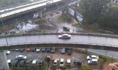 Even flyovers are overflooded