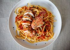 Lobster Diavolo. Hey, if I can afford the lobster, I can probably afford the time to cook it.
