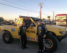 Dr. Macrae Glass races the 8000 KC HiLites/General Tire Ford 150 in Best In The Desert