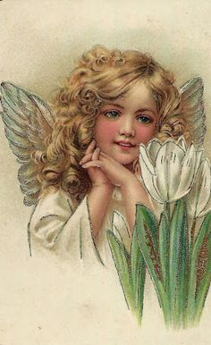 Tulip angel