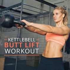 Pump up your workout with kettlebells! They challenge your balance with every exercise, giving you a good core workout along with targeting those glutes and hamstrings.